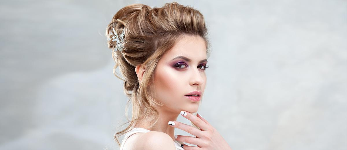 36 Trendy Swept-Back Wedding Hairstyles