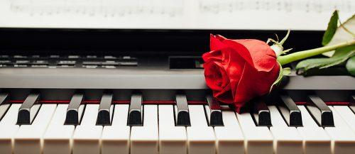 wedding recessional songs rose on the piano featured