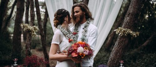 boho wedding featured