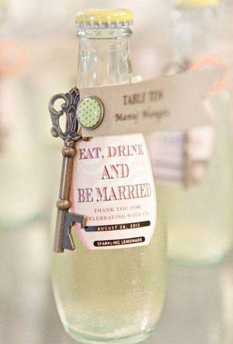 cheap wedding favors bottle with key Glass Jar Photography