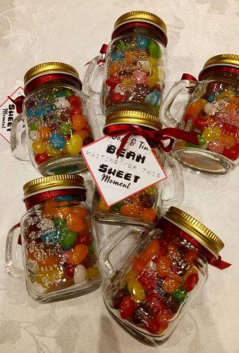 cheap wedding favors candy in jar mcceventsmayettecinco