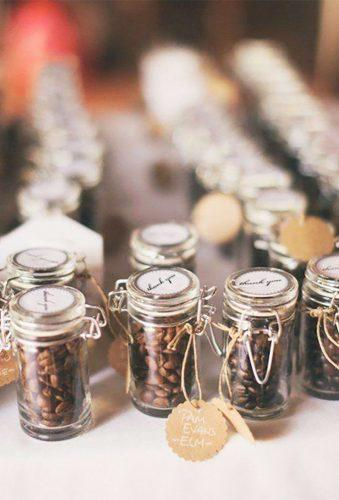 cheap wedding favors coffe gift Heather Jowett Photography