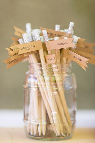 cheap wedding favors pencil favor brancoprata