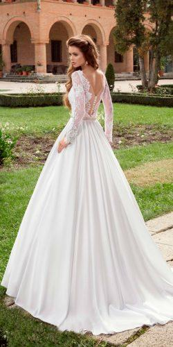 disney wedding dresses aurora a line lace backless long sleeves armonia dress
