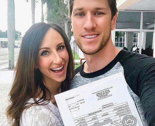 how to change your name young couple with marriage license