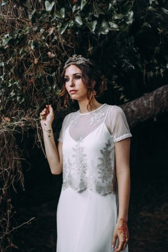 image of the bride lorena erre photography