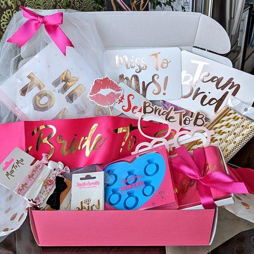 Miss To Mrs Subscription Box Party Essentials