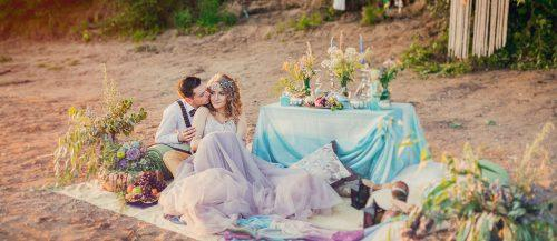 bohemian wedding ideas featured