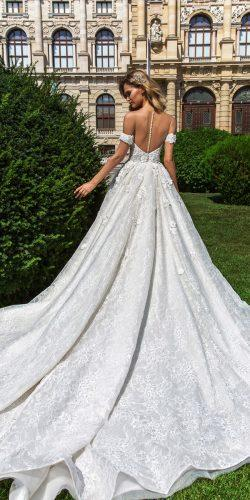 crystal design 2018 wedding dresses a line lace illusion backless with detached sleeves style graicen