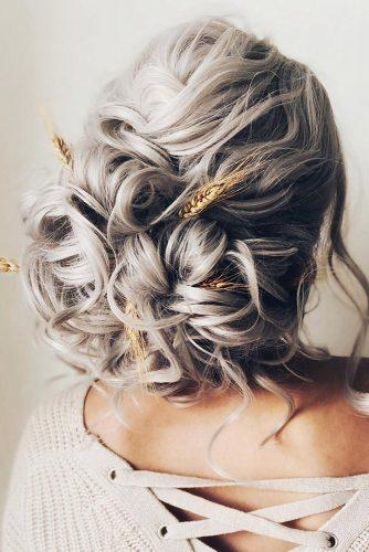rustic wedding hairstyles curly volume low bun alishajaredhairartistry