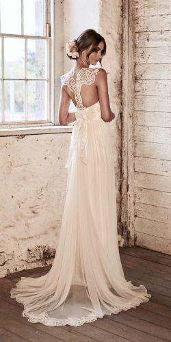 vintage flattering lace original backless t bar back detail silk tulle straight anna campbell 2018 wedding dresses eleanor