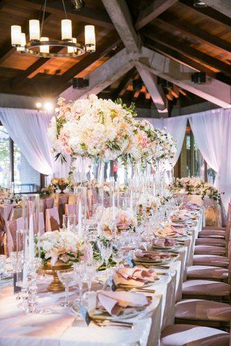 wedding centerpieces blush centerpiece Jasmine Lee Photography