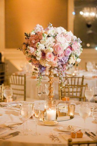 wedding centerpieces flower centerpiece Valorie Darling Photography