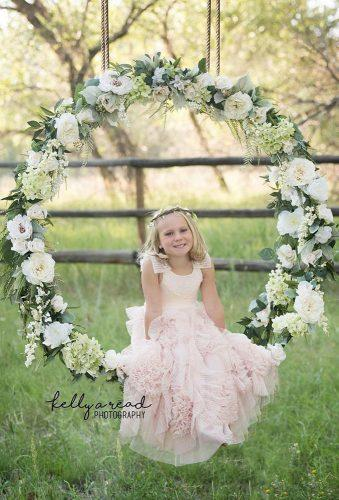 wedding wreaths flower cute flowergirl kellyareadphotography