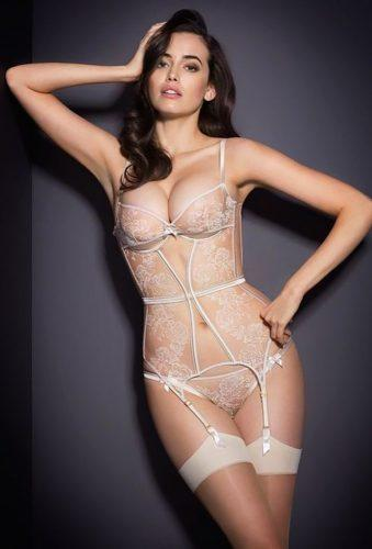 bridal lingerie sexy wintage set Agent Provocateur