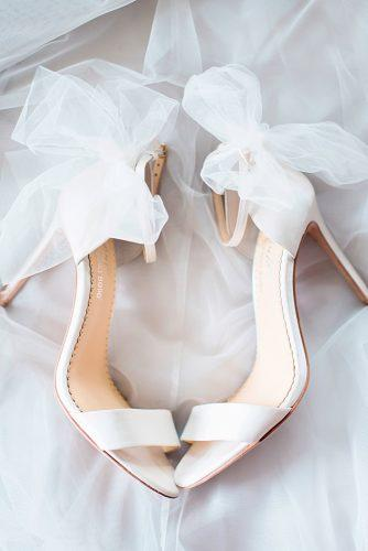 classic white ankle strap with bows wedding shoes trends 2018 bella belle elise