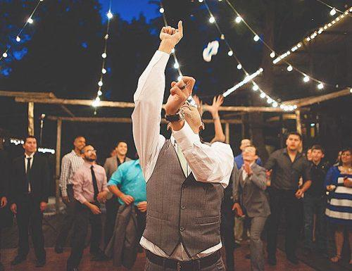 garter toss songs groom ceremony guests