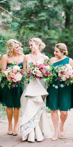 green bridesmaid dresses short emerald connie whitlock