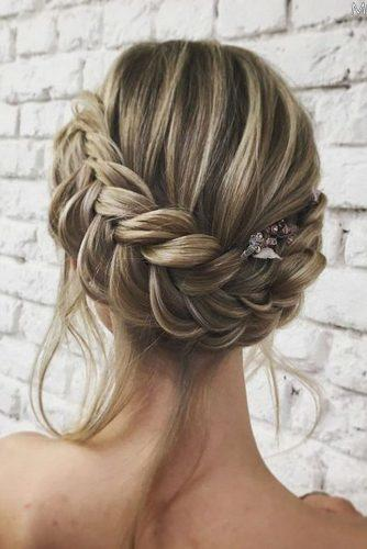 pinterest wedding hairstyles braided crown lenabogucharskaya via instagram
