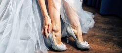 18 Silver Wedding Shoes For Stylish Brides