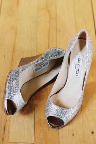 silver wedge wedding shoes comfortable modern virgil bunao