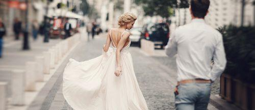 a line wedding dresses featured