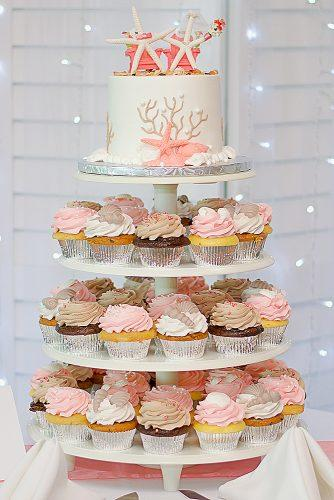 beach wedding cakes wedding sea themed