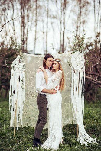 bohemian wedding theme woodland wedding ceremony danelle bohane