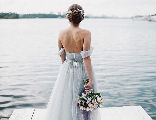 cheap wedding bride dress lake