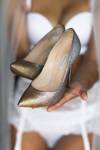 comfortable wedding shoes sequins ombre monro photography