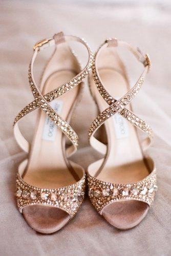 comfortable wedding shoes spafkle nude gold jimmy choo