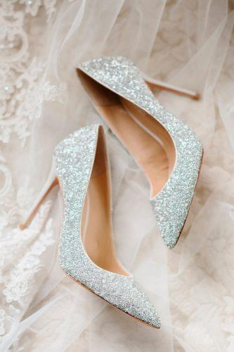 comfortable wedding shoes sparkly high heels classy bling erin wilson