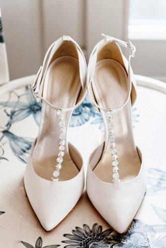 comfortable wedding shoes stylish t strap ankle strap with rhinestones nude alessandrarinaudo