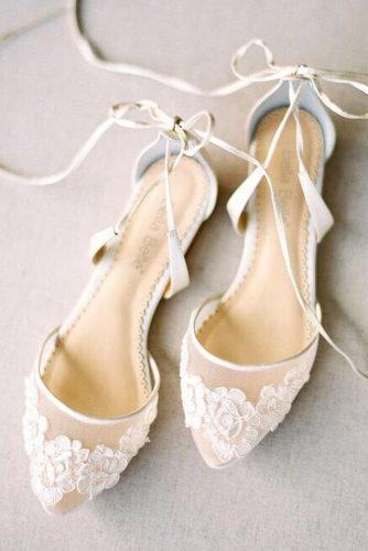 flat wedding shoes lace comfortable bella belle shoes