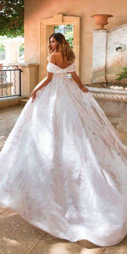 milla nova simple ball gown trendy wedding dresses 2018 roze