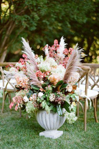 pampas grass wedding big vase wirg flowers heather waraksa