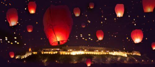 12 Magic Sky Lanterns Photo Ideas For Your Wedding Album