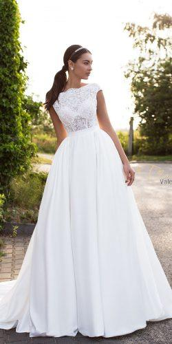 tina valerdi ball gown lace cap sleeves wedding dresses merita