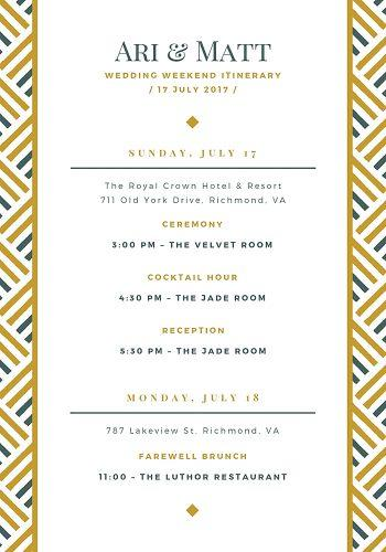 wedding program template dinner menu wedding program template