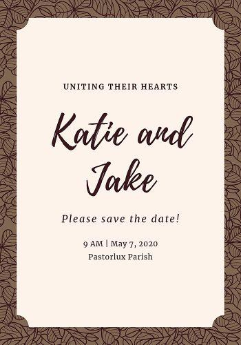 wedding program template vintage wedding program template