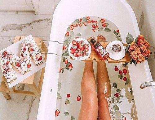 wedding registry ideas bathtub caddy