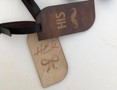 wedding registry ideas luggage tags