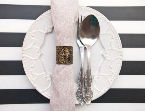 wedding registry ideas napkins napkin rings