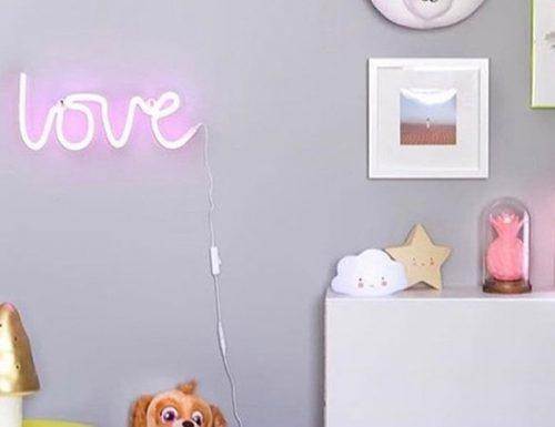 wedding registry ideas neon light