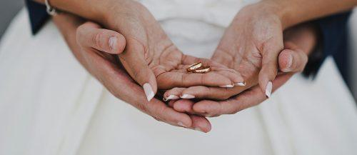 who pays for the wedding bride and groom hands rings featured
