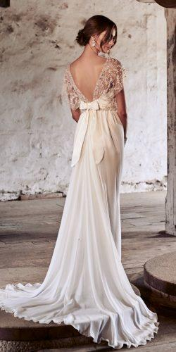 anna campbell 2018 vintage flowy open back embellishment shoulders with silk back bow wedding dresses adele