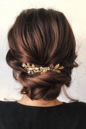 classical wedding hairstyles greek elegant low updo for any leight sabrina dijkman via instagram