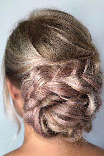 classical wedding hairstyles low updo with braids annette_updo_artist