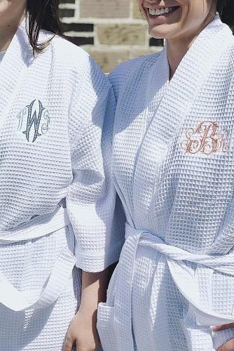 engagement gifts monogram robes