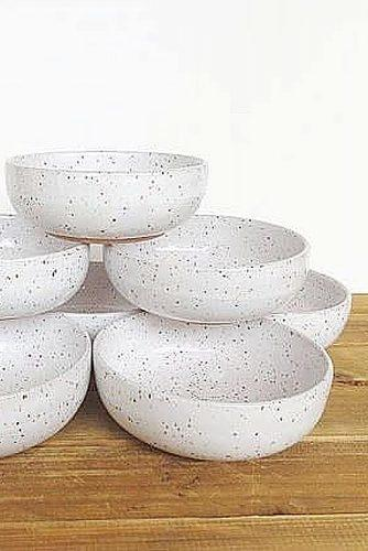 engagement gifts snack bowls